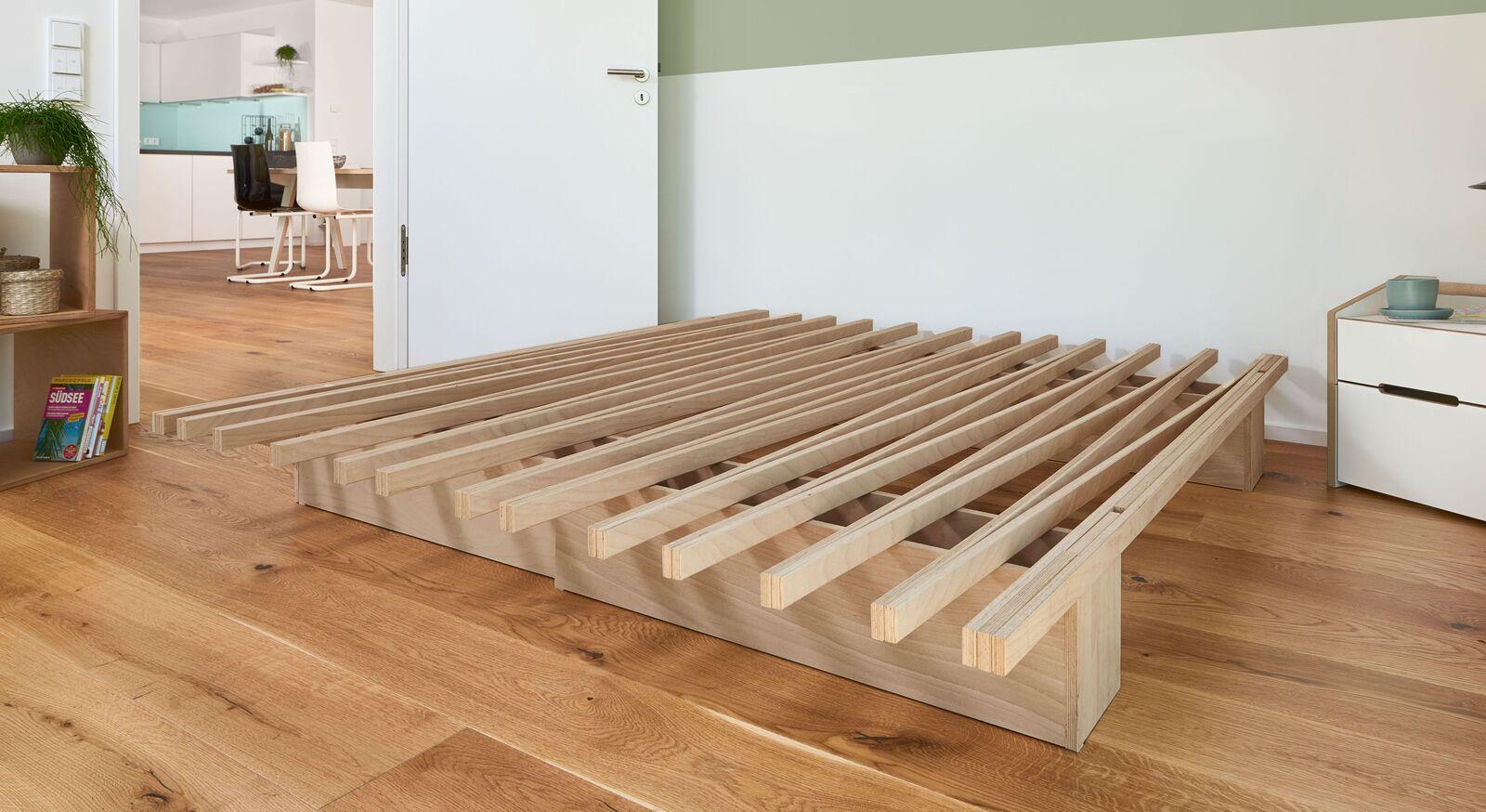Bettsystem Tojo V mit stabiler Konstruktion