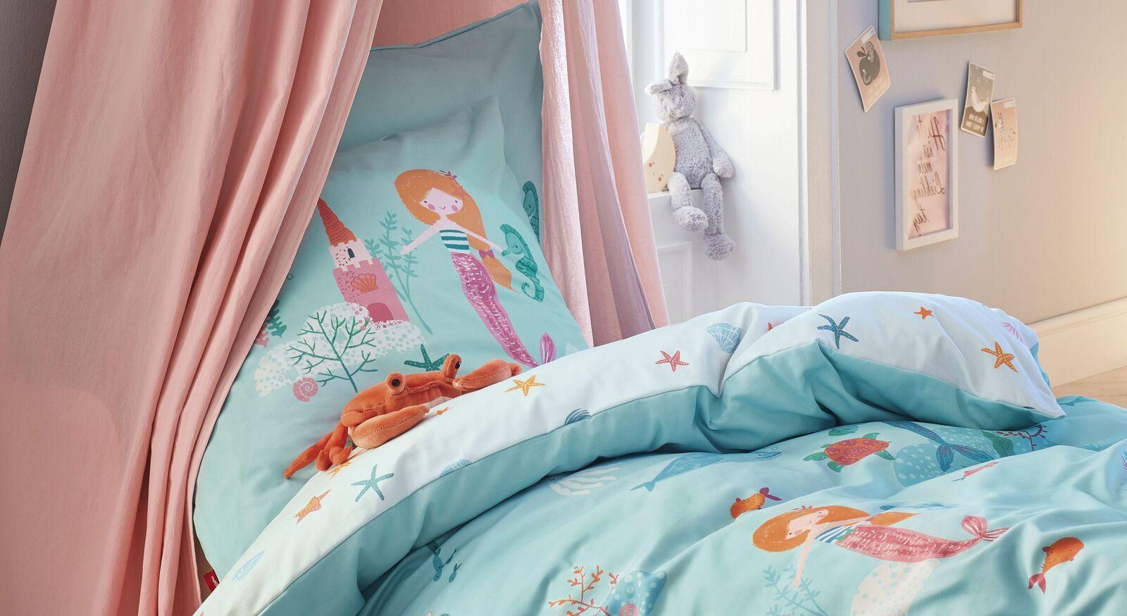 Bettwäsche s.Oliver Meerjungfrau für Kinder