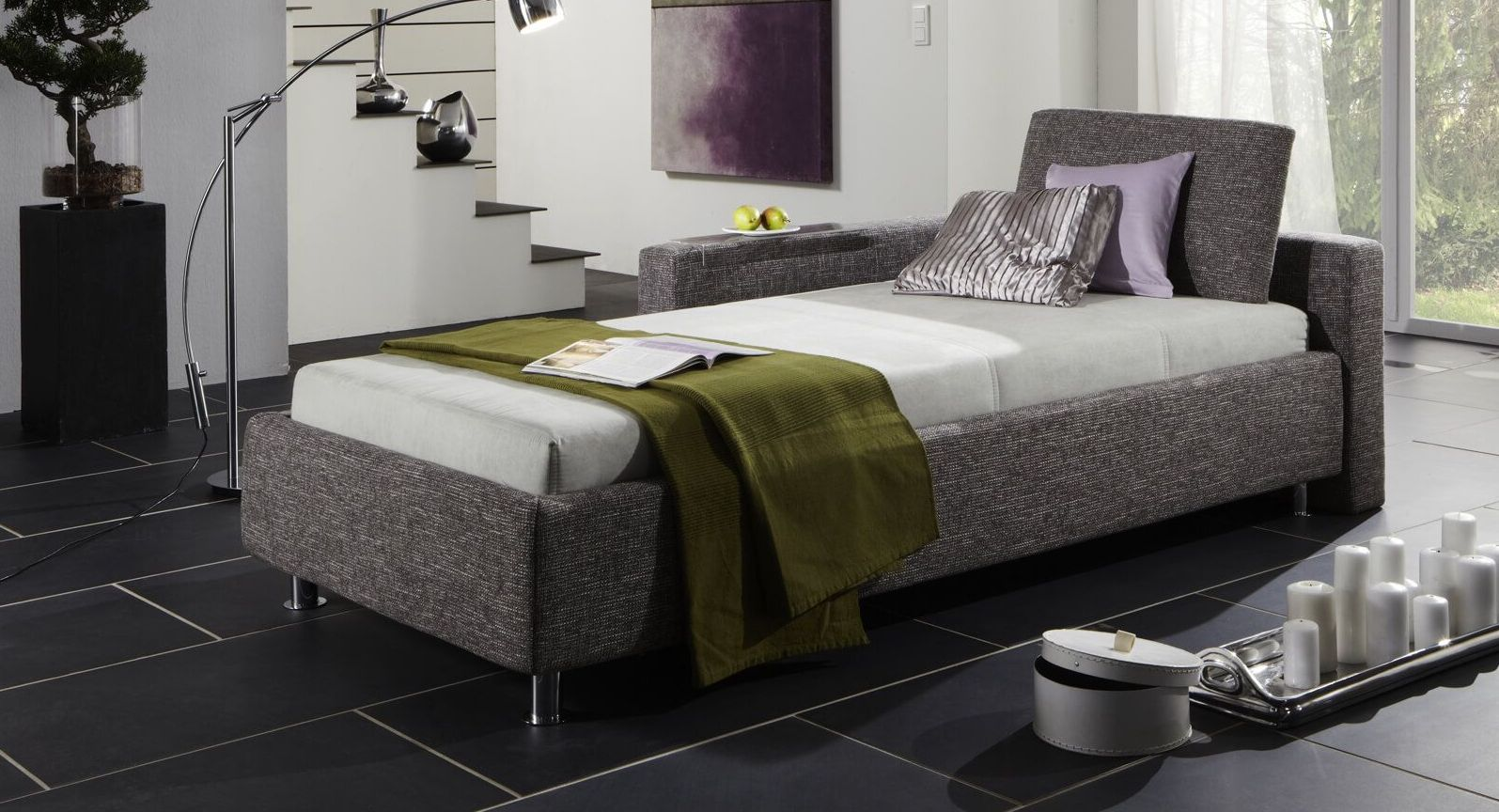 bezugsstoffe f r betten und matratzen kurz vorgestellt. Black Bedroom Furniture Sets. Home Design Ideas