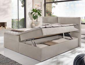 modernes schlafzimmer komplett zweifarbig mit boxbett belcastro. Black Bedroom Furniture Sets. Home Design Ideas