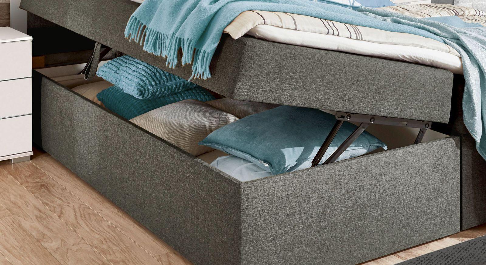 Boxbett Cartini inklusive Stauraummöglichkeiten