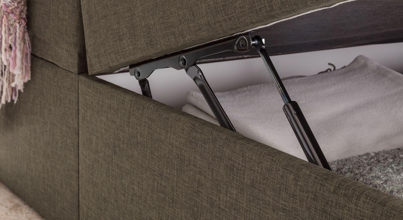 Boxbett Mileto mit Gasdruckfeder für leichtes Öffnen