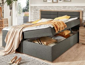 Boxbett Rovito in Boxspring-Optik