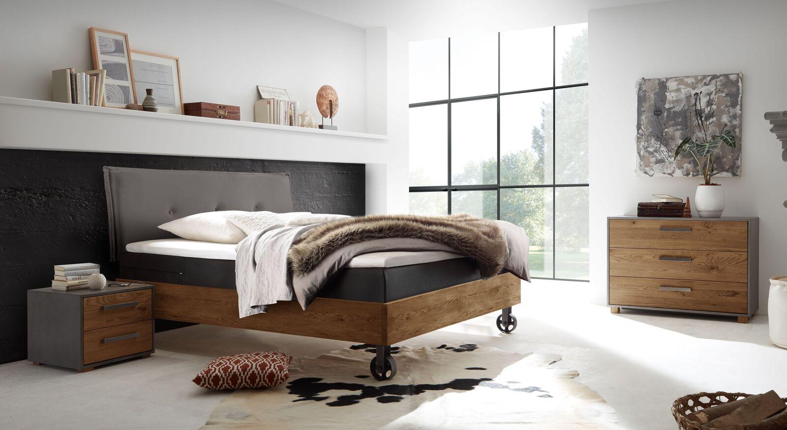 Passende Schlafzimmermöbel zum Boxspringbett Camaso