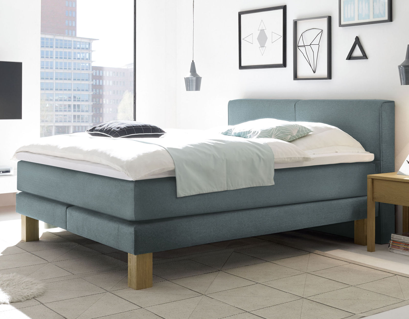 boxspringbett f r dicke menschen individuell anpassbar coro. Black Bedroom Furniture Sets. Home Design Ideas