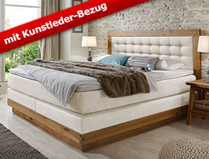 boxspringbetten aus massivholz g nstig kaufen. Black Bedroom Furniture Sets. Home Design Ideas