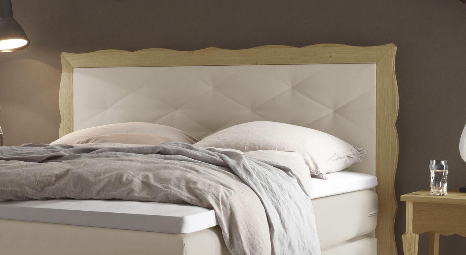 individuell anpassbares boxspringbett mit 2 schubladen. Black Bedroom Furniture Sets. Home Design Ideas