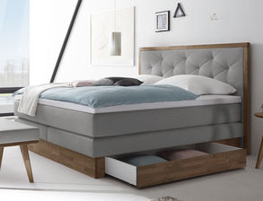 boxspringbetten mit bettkasten und stauraum online kaufen. Black Bedroom Furniture Sets. Home Design Ideas