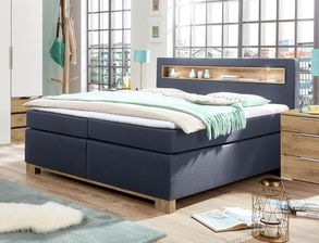 Moderne Schlafzimmer-Einrichtung inkl. Boxspringbett - Valloria