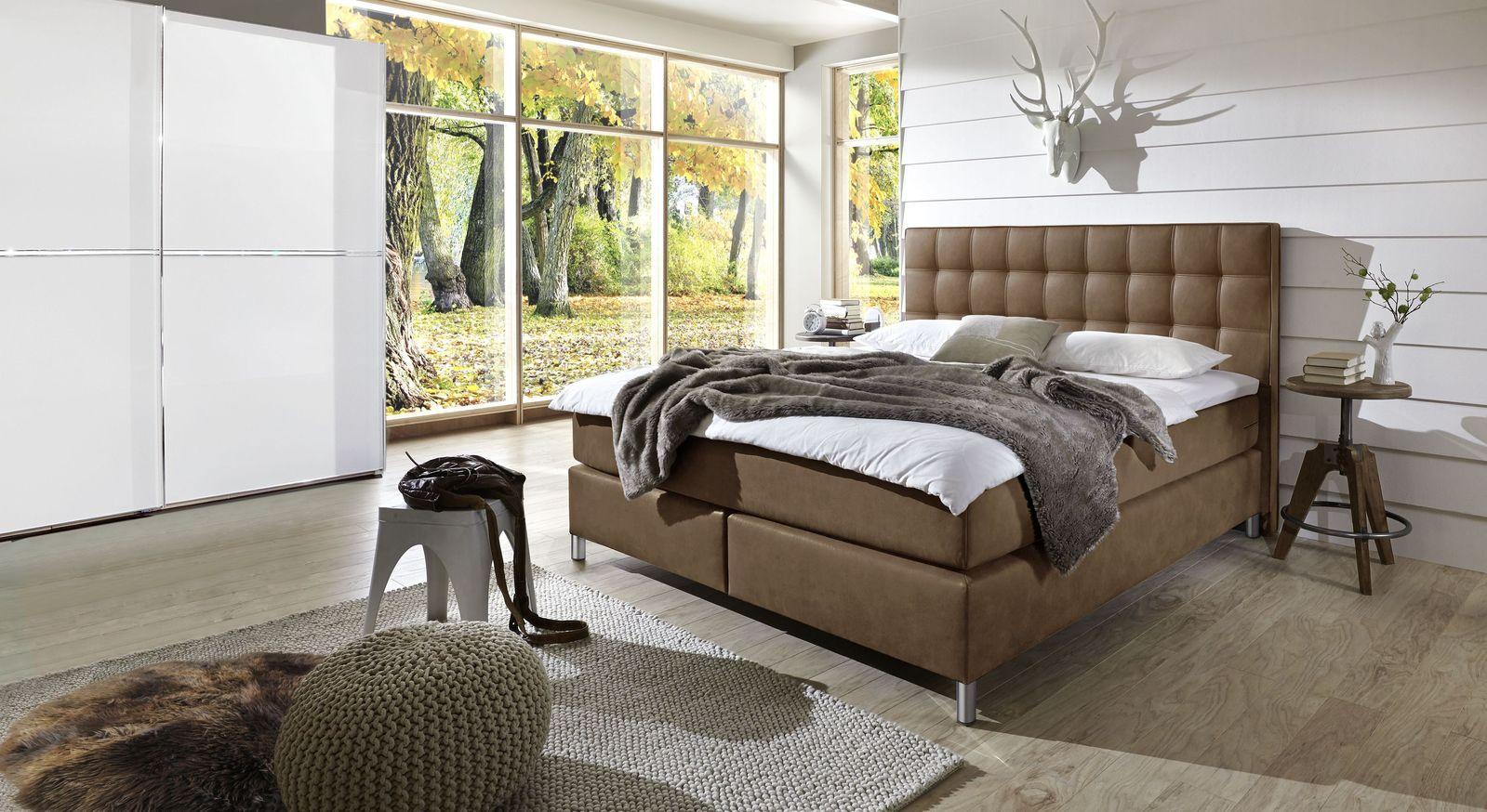 Schlafzimmer komplett auf Rechnung kaufen - Zamora