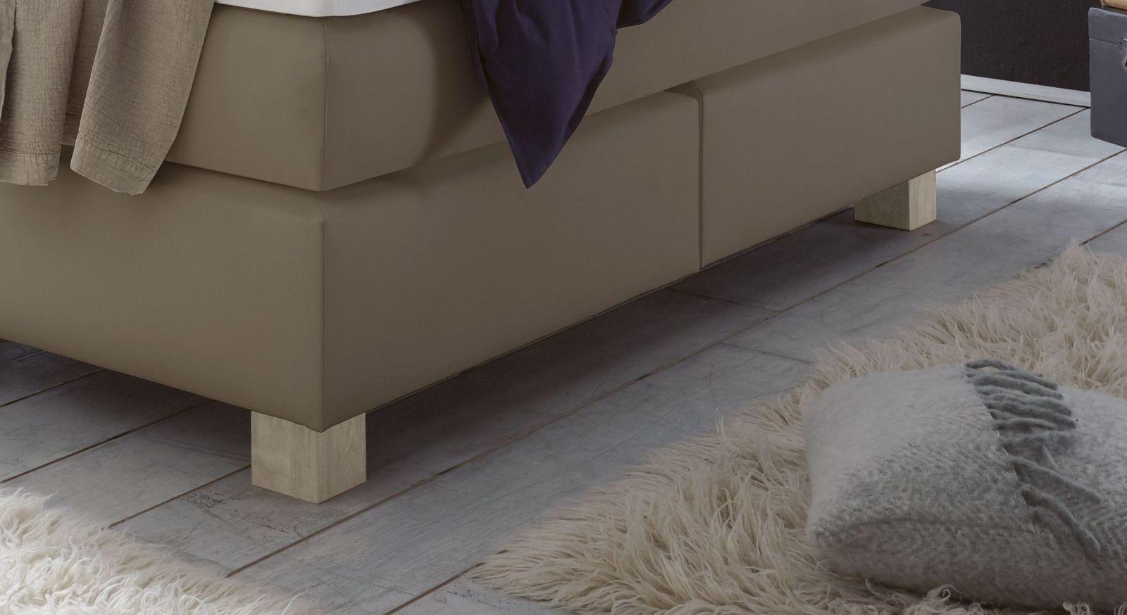Doppelbett Ohne Kopfteil ~ Modernes boxspring doppelbett ohne kopfteil goma betten