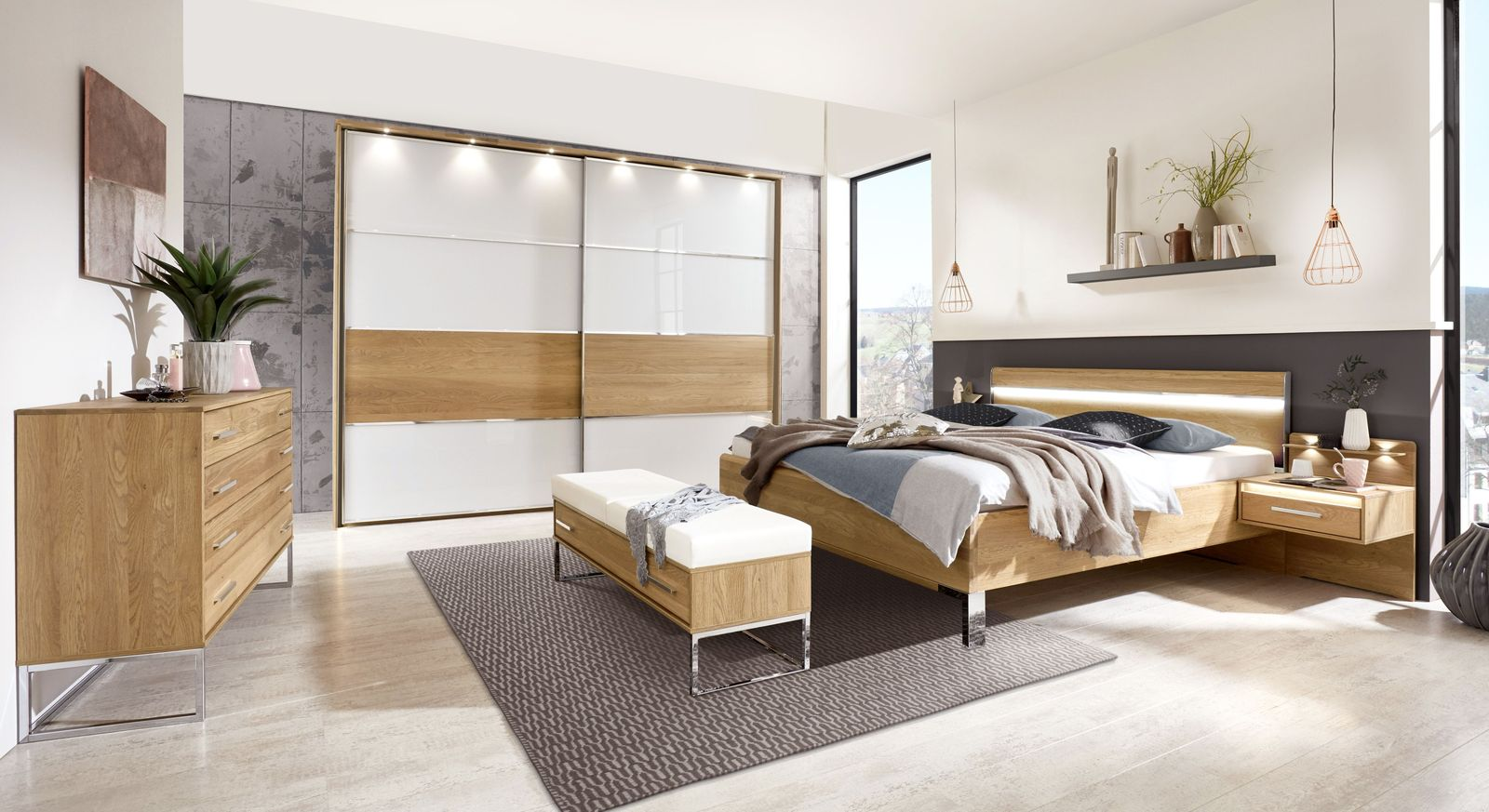 Komplett-Schlafzimmerprogramm Chipperfield