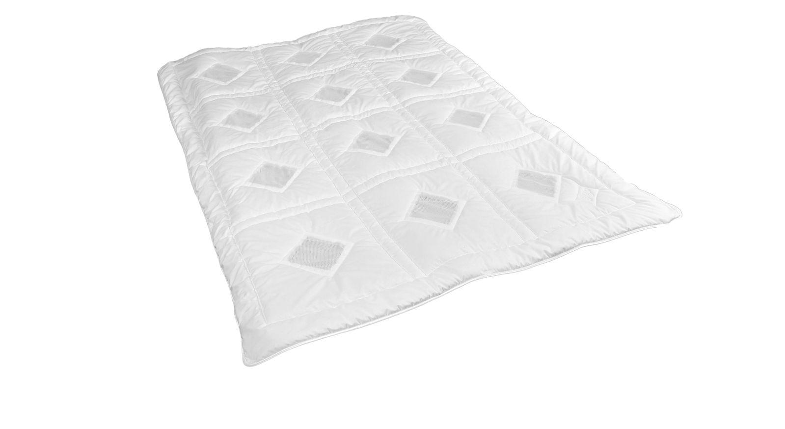 Dacron-Bettdecke clima balance living medium optimal für die Übergangszeit