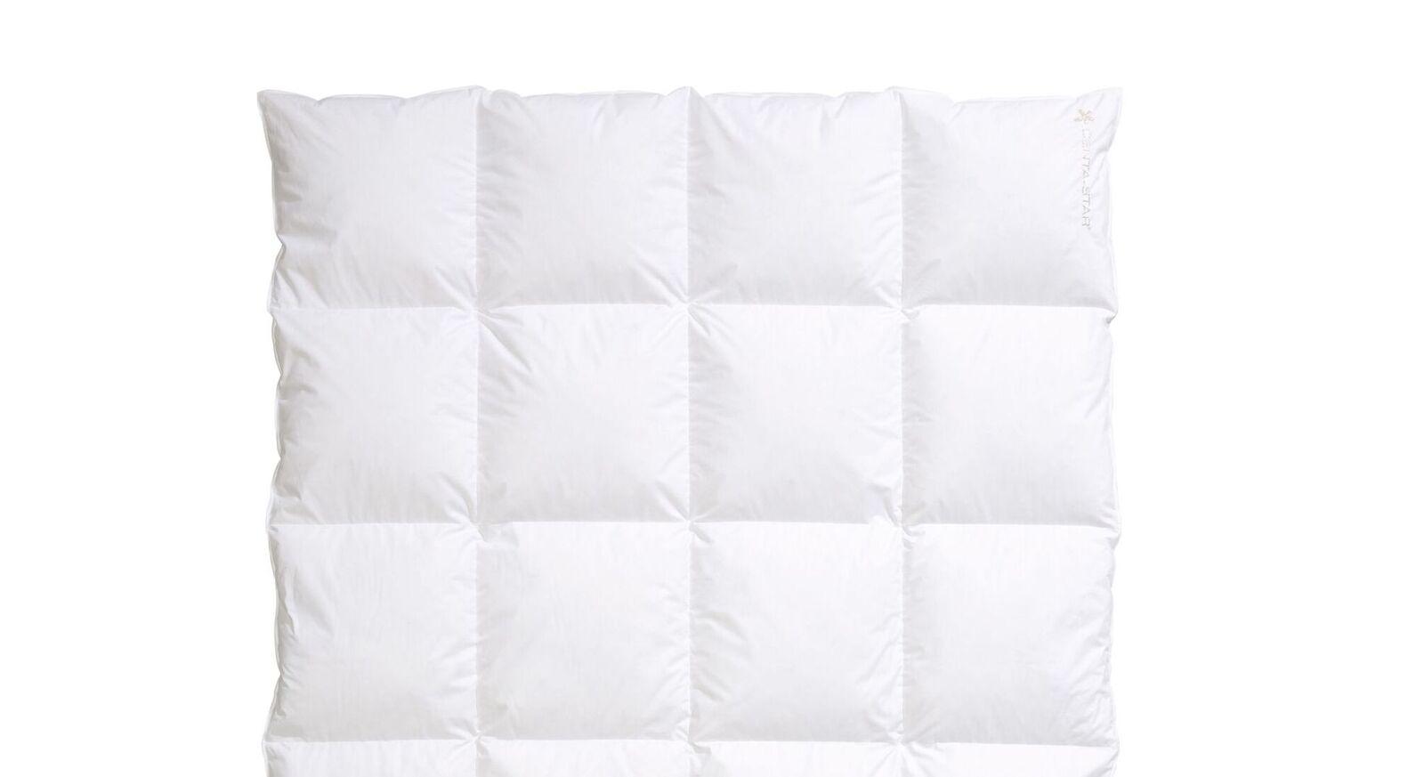 Daunen-Bettdecke Centa Star Moments warm mit Baumwoll-Bezug