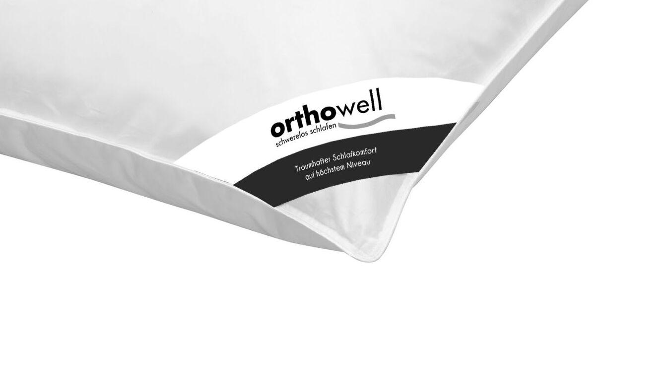 Daunen-Kissen orthowell Standard in Markenqualität