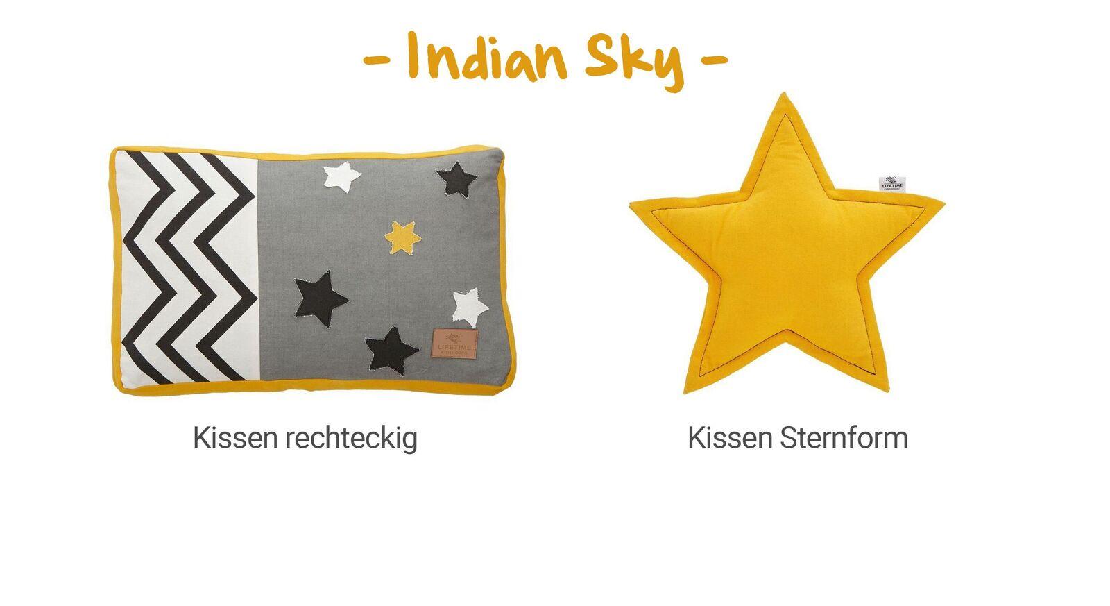 Übersicht LIFETIME Dekokissen Indian Sky