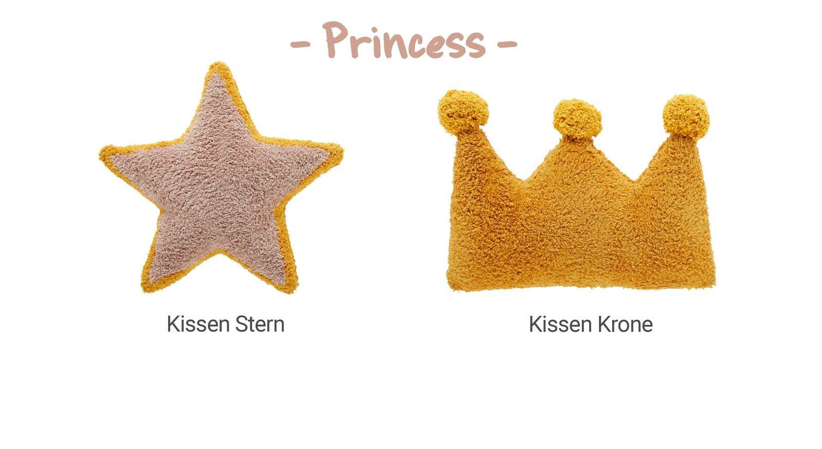 Übersicht LIFETIME Dekokissen Princess