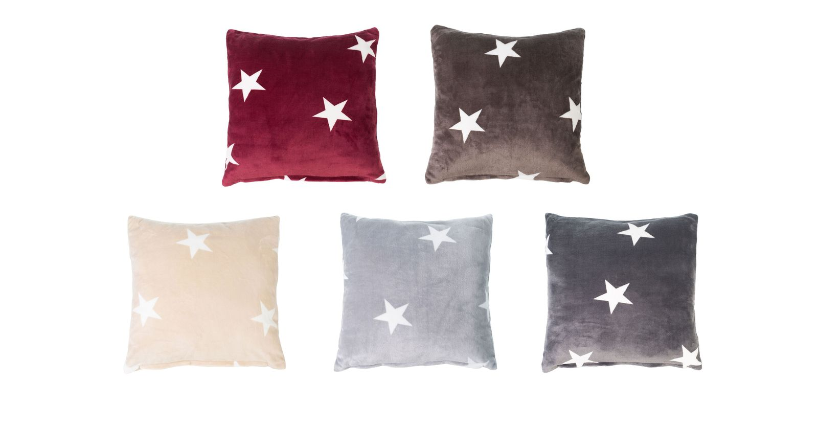 Dekokissen Sternenregen in vielen Farben erhältlich