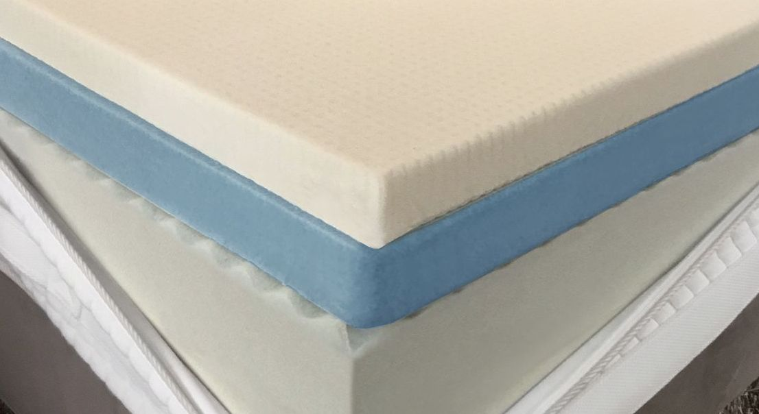 Doppel-Topperkern Green-Air + Talalay-Latex als optimale Ergänzung zum Boxspringbett