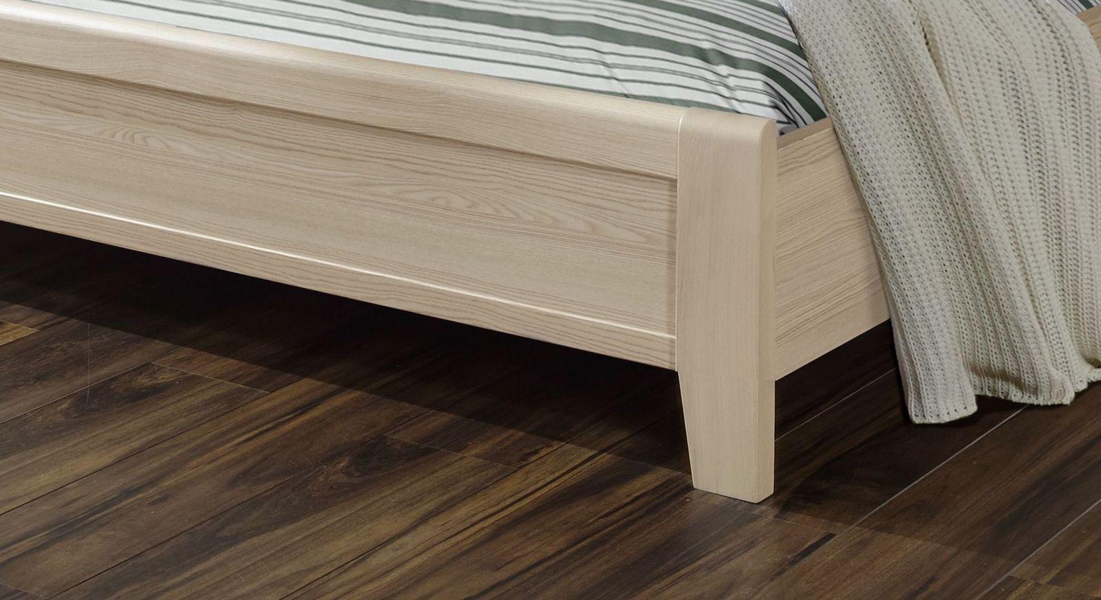 Doppelbett Rapino mit schlichtem Fußteil