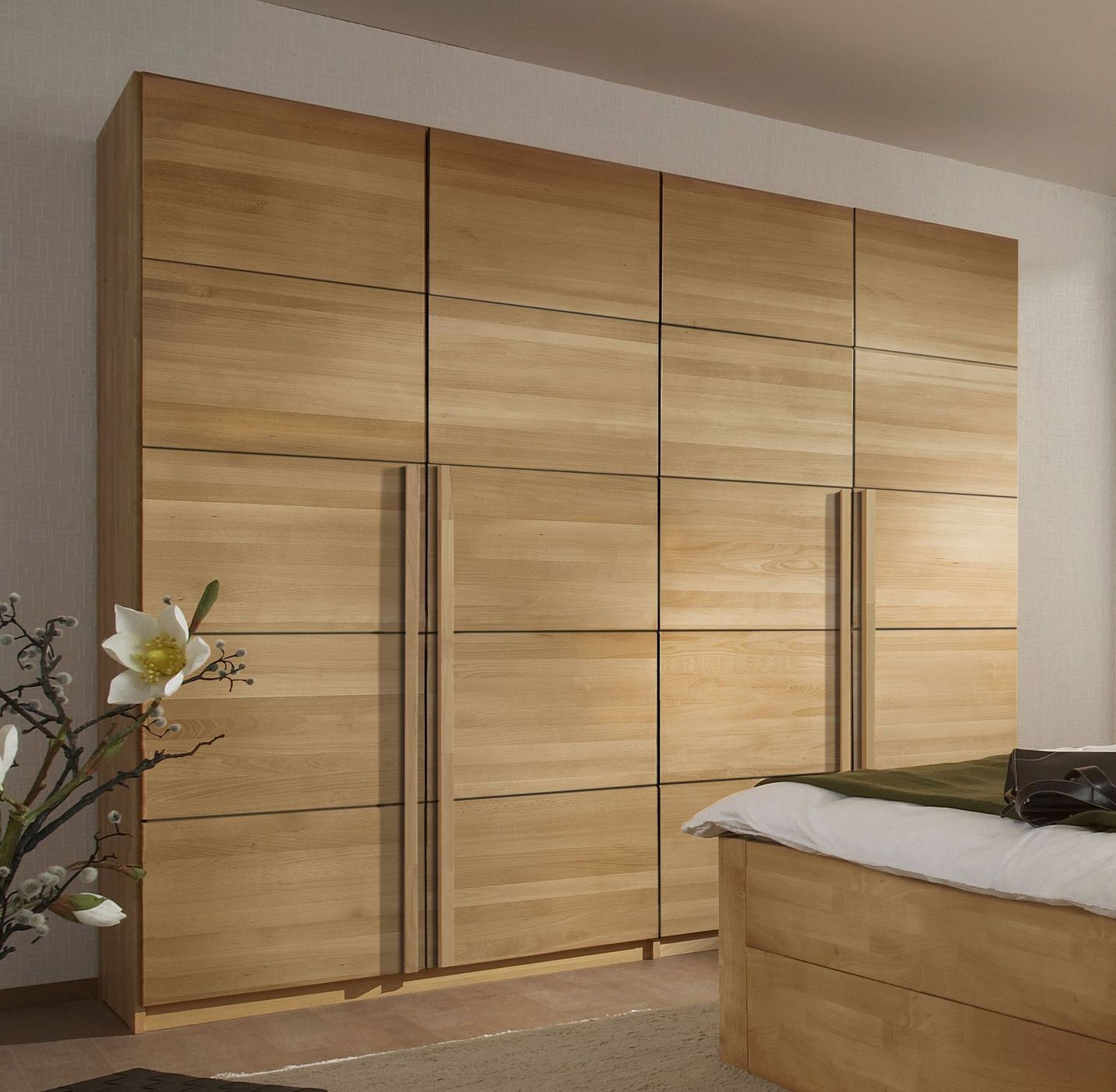 dreht ren kleiderschrank z b in kernbuche ge lt andalucia. Black Bedroom Furniture Sets. Home Design Ideas