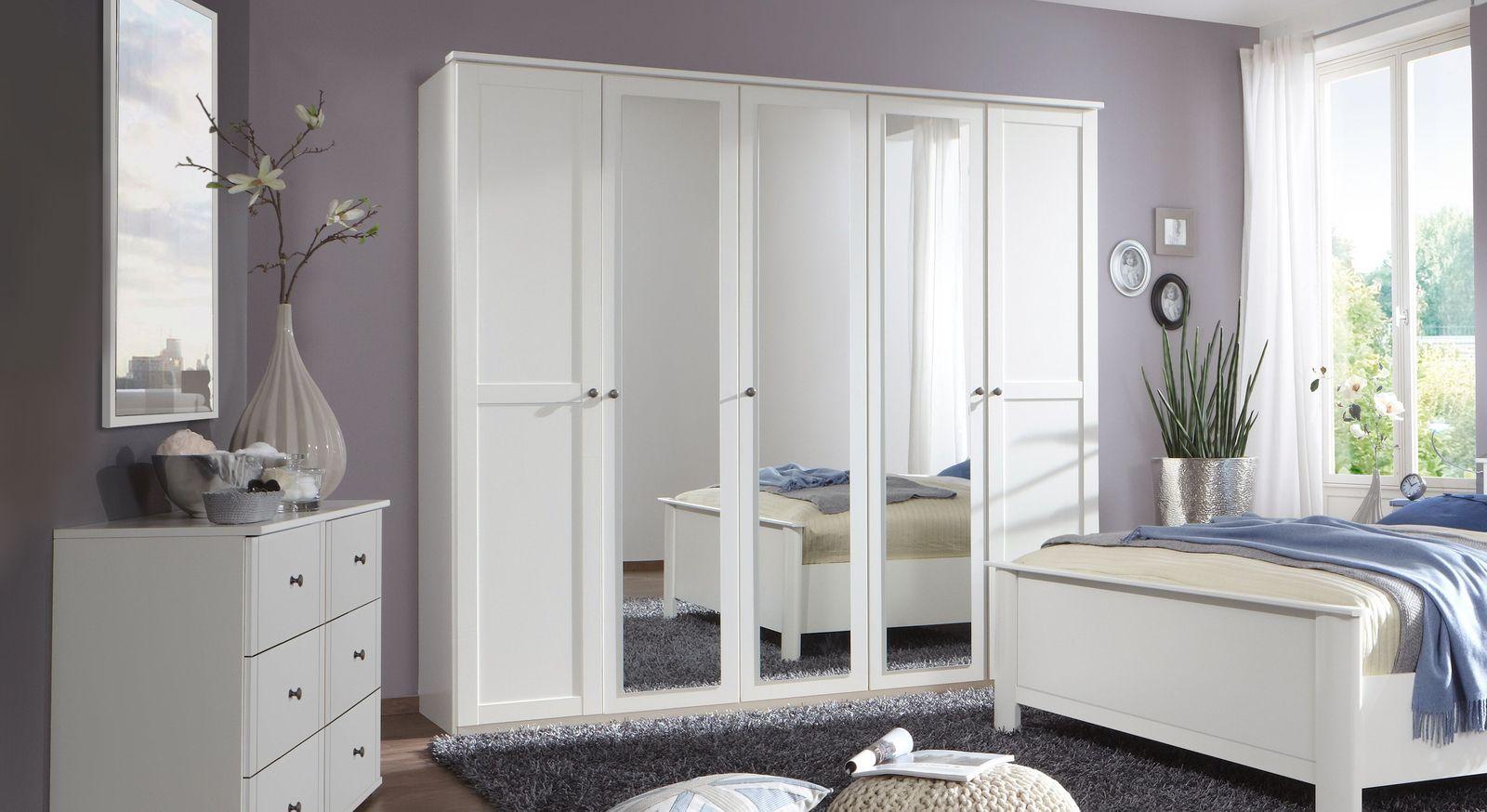 5-türiger Drehtüren-Kleiderschrank Berata
