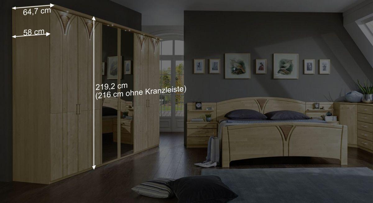 Höhe des Drehtüren-Kleiderschranks Karia