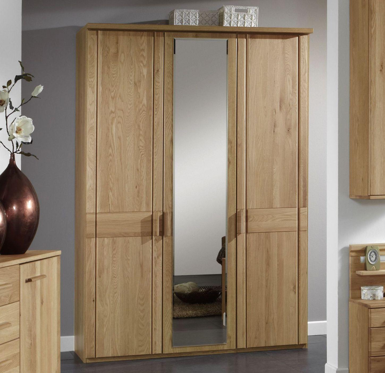 Eichenschrank mit Spiegeln individuell einteilbar - Toliara