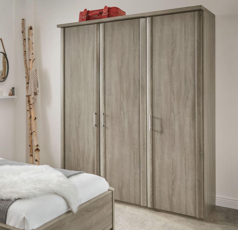 kleiderschrank tr ffeleiche dekor inkl innenausstattung. Black Bedroom Furniture Sets. Home Design Ideas