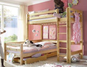 Etagenbett Für Zwei Kinder : Kinderbett zwei kinder grosartig etagenbetten clay massivholz