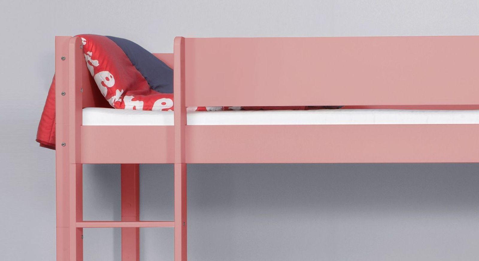 Eck-Etagenbett Kids Town Color mit Leiter für Links oder Rechts