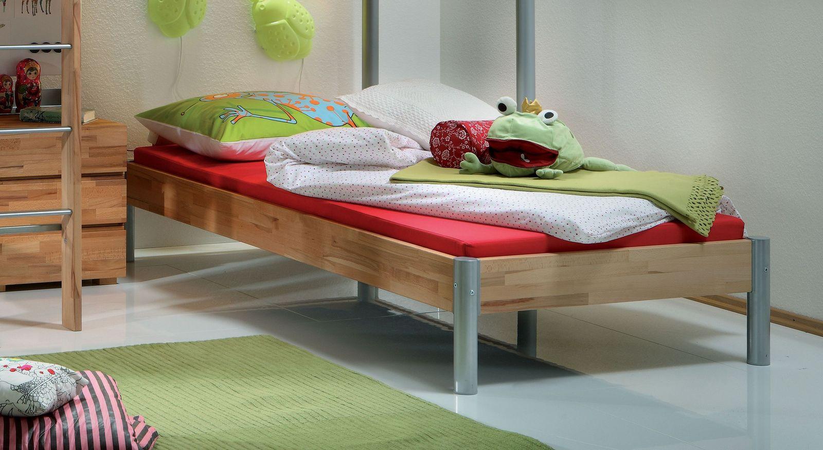 Eck-Etagenbett Lorena mit praktischem Schlafplatz