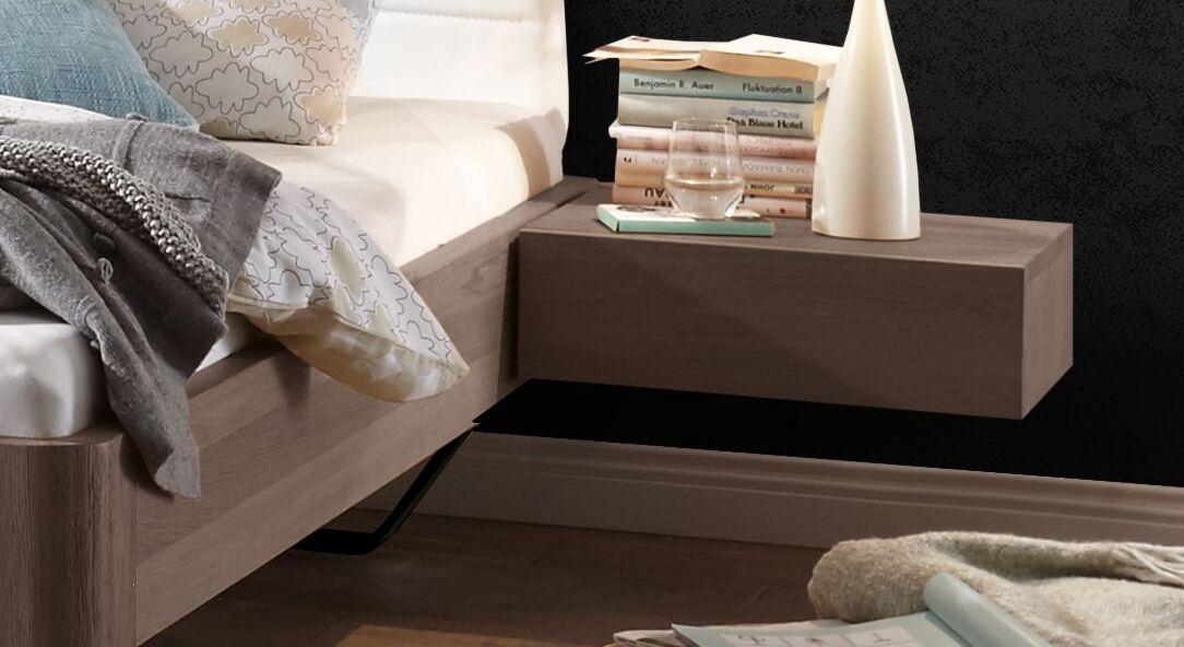 Einhänge-Nachttisch Epondia mit praktischer Schublade