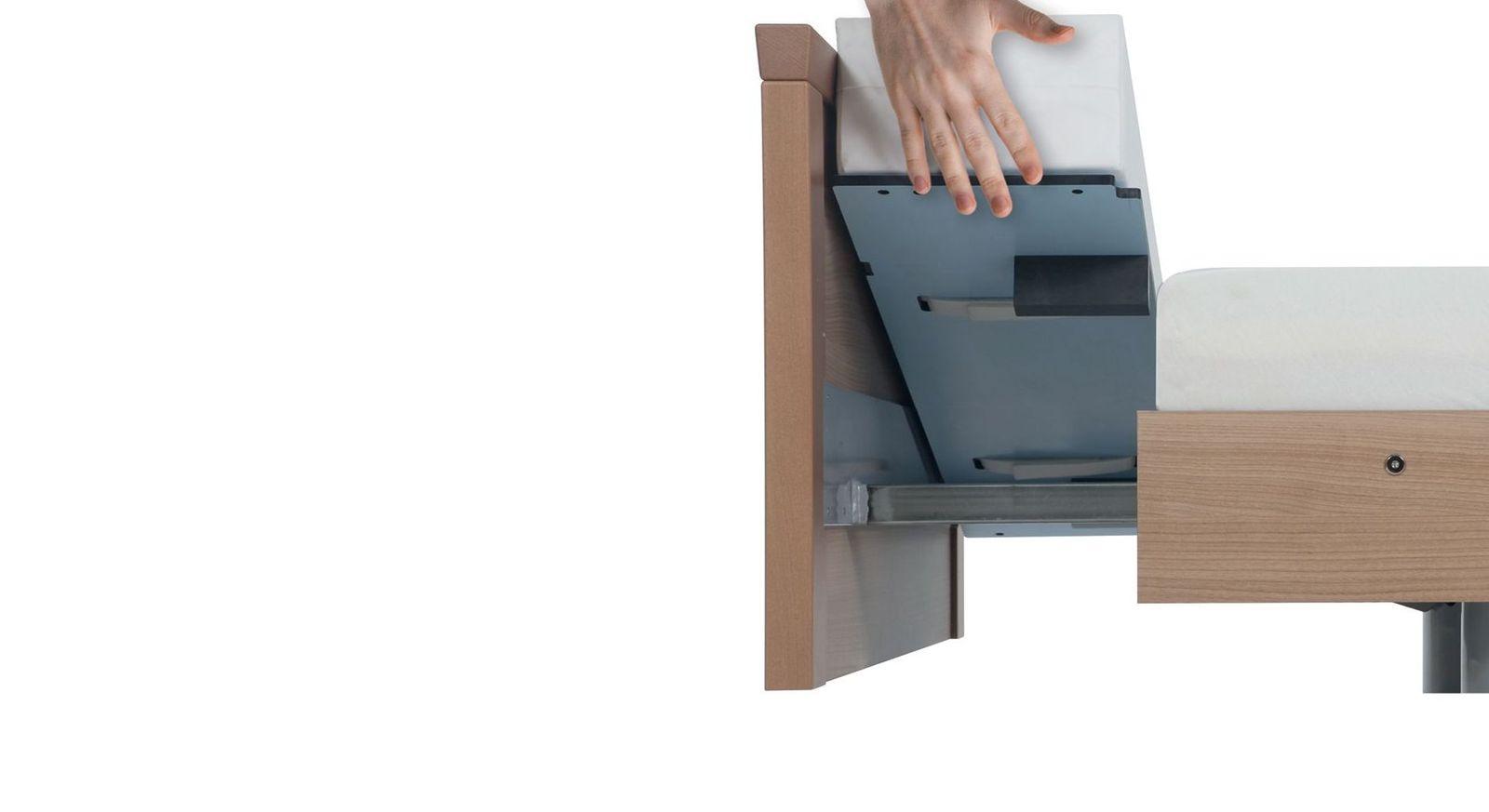 20 cm breiter Matratzenblock als Einleger zur Bettverlängerung