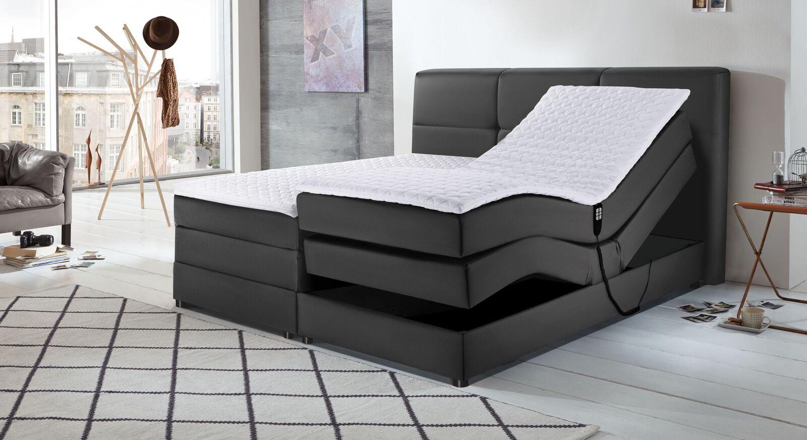 Elektro-Boxspringbett Veroli mit komfortablen Positionen