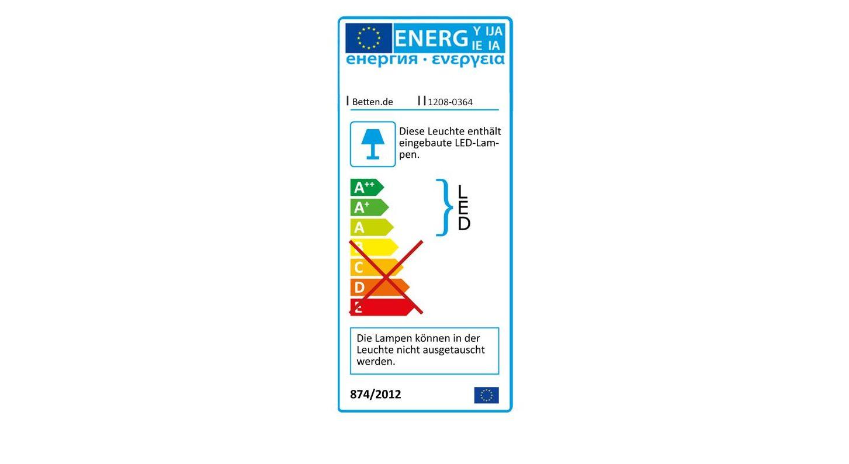 Energieverbrauchskennzeichnung Bett Briston