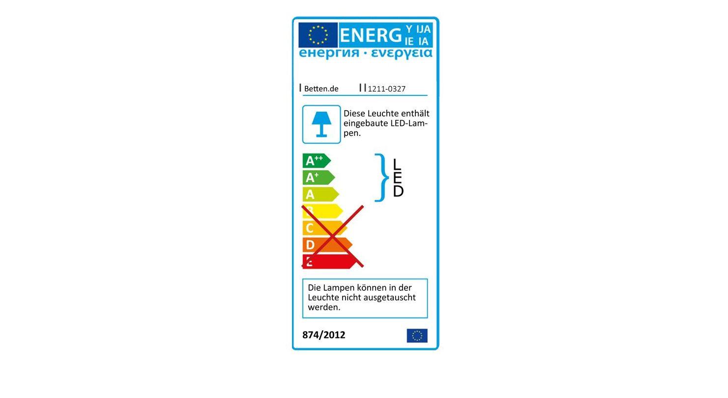 Energieverbrauchskennzeichnung vom Nachttisch Chandler Komofrt