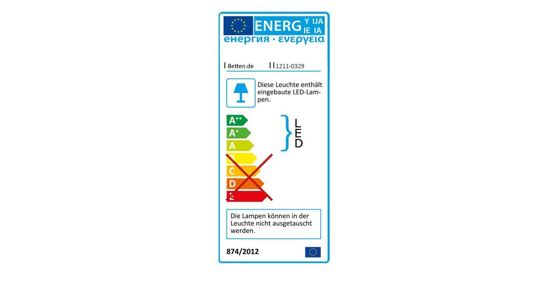 Energieverbrauchskennzeichnung vom Nachttisch Crawley Komfort