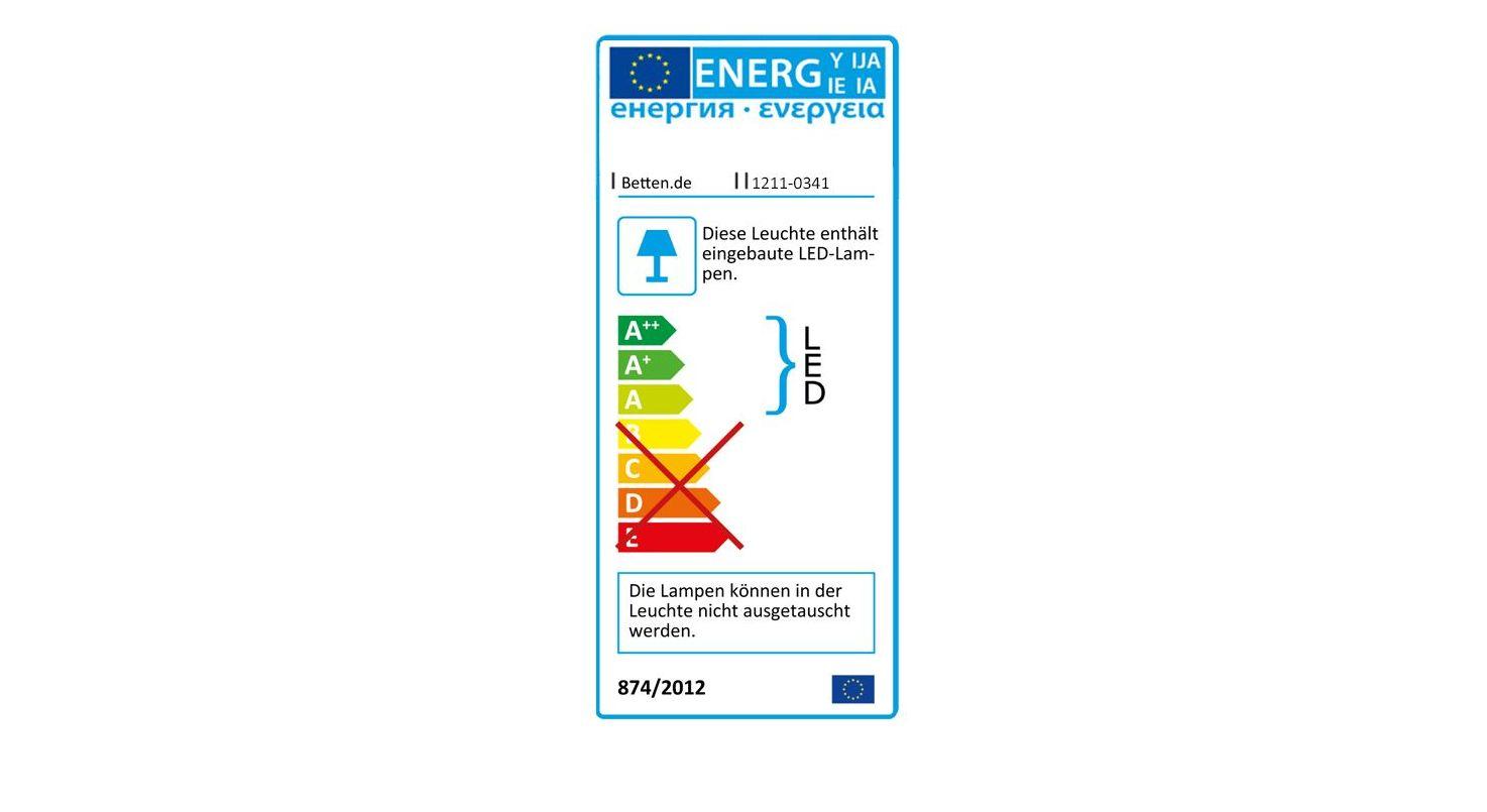 Energieverbrauchskennzeichnung vom Nachttisch Paterson Komfort