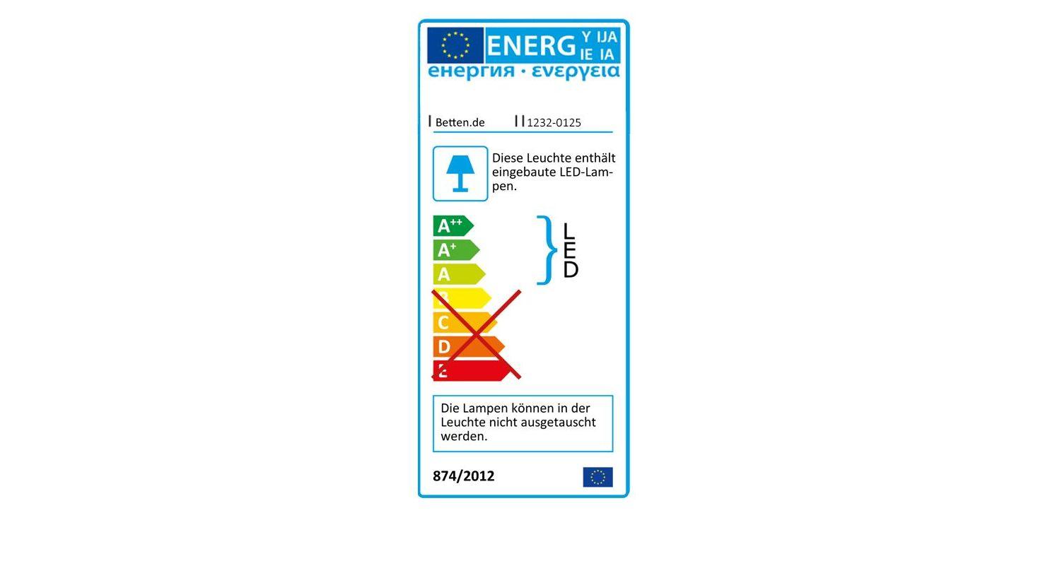 Energieverbrauchskennzeichnung vom Schwebetüren-Kleiderschrank Briston