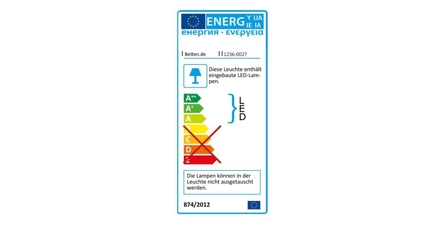 Energieverbrauchskennzeichnung vom Spiegel-Funktions-Kleiderschrank Southville