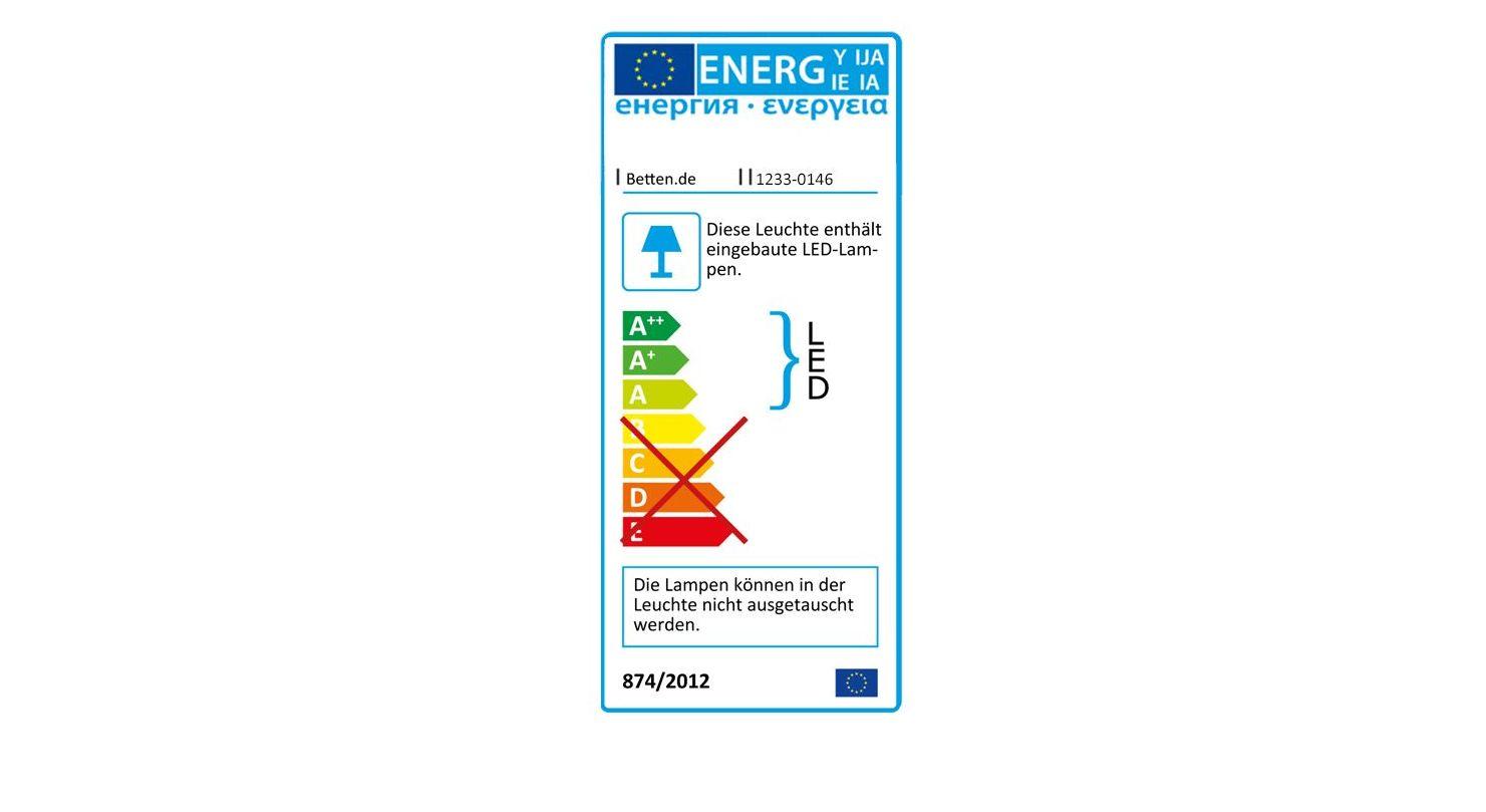 Energieverbrauchskennzeichnung vom Drehtüren-Kleiderschrank Mallow