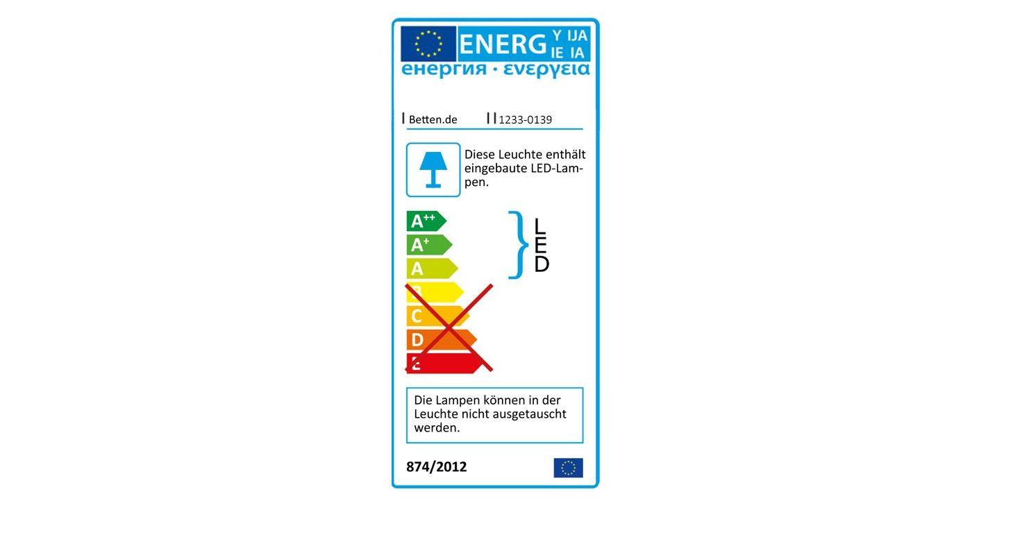 Energie-Verbrauchskennzeichnung zum Drehtüren-Kleiderschrank Telford