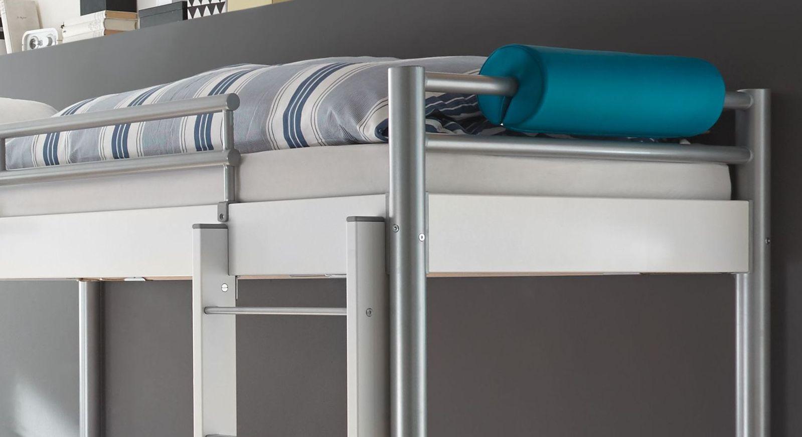 Etagenbett Metall Günstig : Stabiles etagenbett aus metall mit wählbarem dekor jan