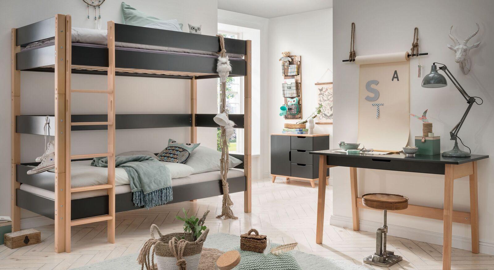 Etagenbett Kids Nordic Boys mit zwei Schlafmöglichkeiten