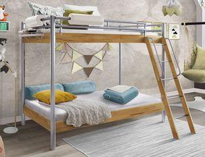 Etagenbetten Für Erwachsene Günstig : Etagenbett für erwachsene nische stockbett rollrost