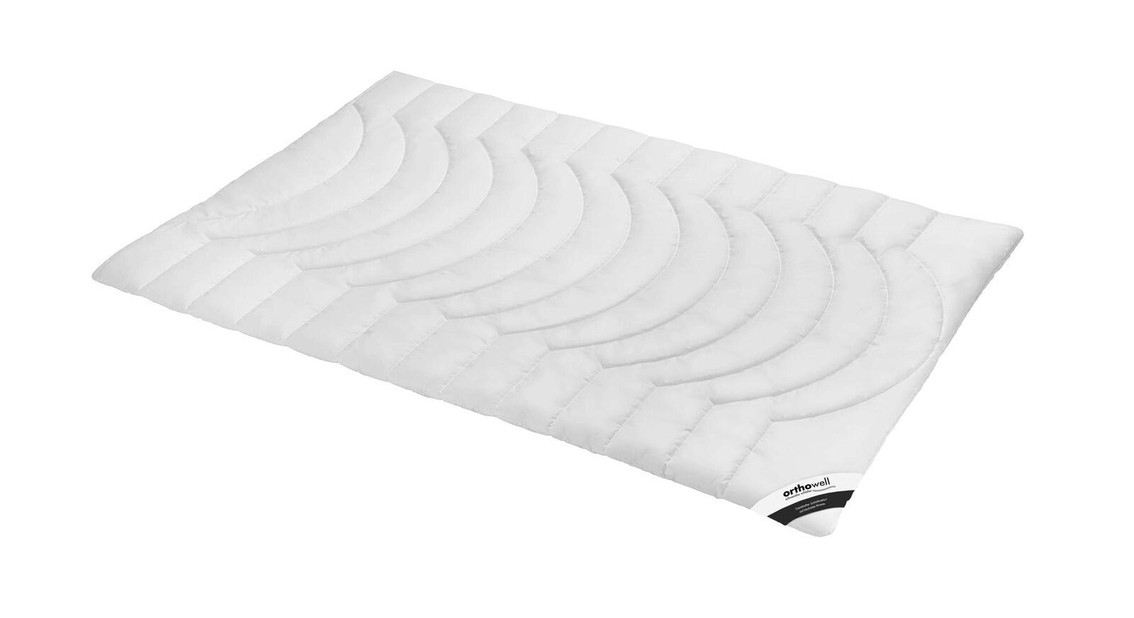 Weiche Faser-Bettdecke orthowell Premium normal