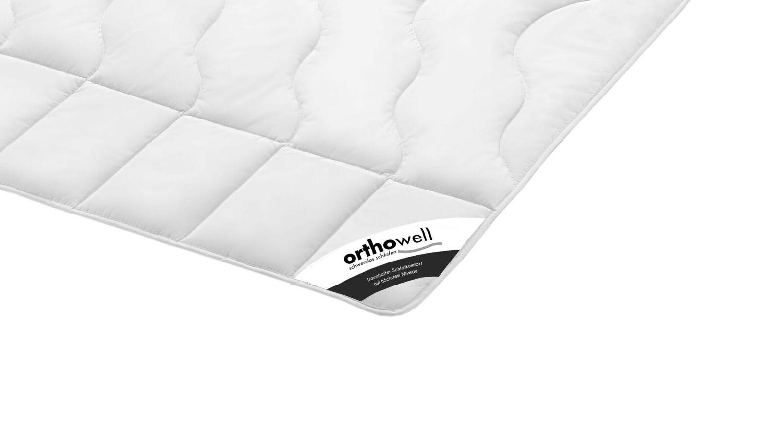 Faser-Bettdecke orthowell Standard extra leicht in Markenqualität
