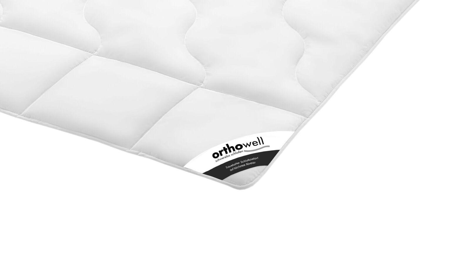 Faser-Bettdecke orthowell Standard medium in Markenqualität