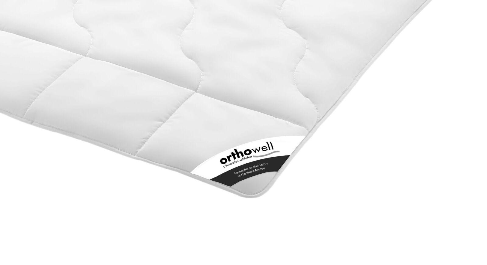 Faser-Bettdecke orthowell Standard in Markenqualität